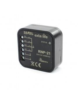 Radiowy nadajnik dopuszkowy 4-kanałowy RNP-21 230V Exta Life ZAMEL