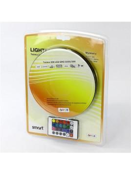 Taśma 300LED SMD 5050 RGB pilot+sterownik Lightech