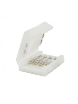 Łącznik do taśm LED RGB 10mm 2-stronny z zatrzaskami