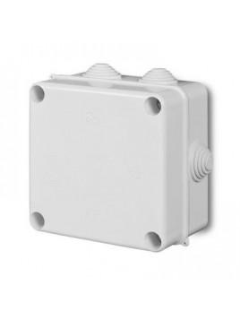 Puszka natynkowa PK-5 hermetyczna IP55 133x133x83 biała 0252-00 EP-Lux Elektro-Plast
