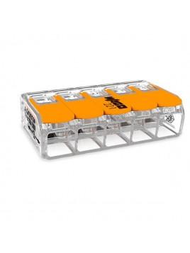 Złączka instalacyjna mikro 5x(0,5-6) mm2 221-615 WAGO