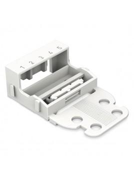 Adapter montażowy 5x biały 221-505 WAGO