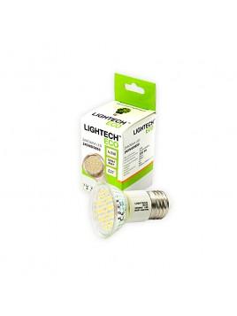 Żarówka LED 4,5W E27 300lm 3000K 230V 24SMD5050 obudowa szklana Lightech