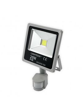 Oprawa LED naświetlacz COB Ecopro 20W z czujnikiem ruchu Lightech