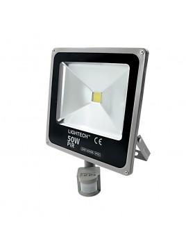 Oprawa LED naświetlacz COB Ecopro 50W z czujnikiem ruchu Lightech