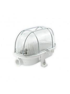 Oprawa kanałowa 60W Ola owal IP44 siatka metalowa Lightech