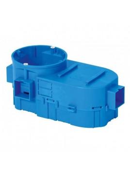 Puszka p/t SE 2x60 niebieska z modułem kieszeniowa 34117203 SIMET