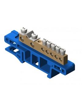 Listwa zaciskowa 7-torowa niebieska 0920-00 Elektro-Plast Nasielsk