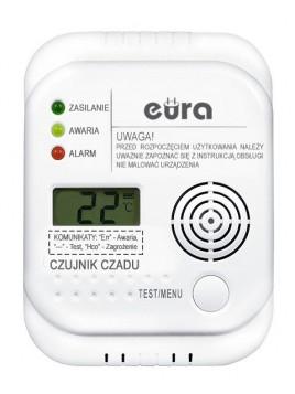 Czujnik czadu EURA CD-65A4 z LCD Eura-Tech