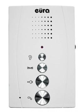 Głośnomówiący unifon biały ADA-11A3 Eura-Tech