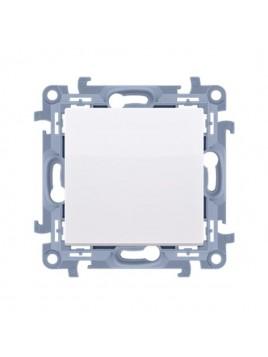 Przycisk zwierny uniwersalny CP1.01/11 biały Kontakt Simon10