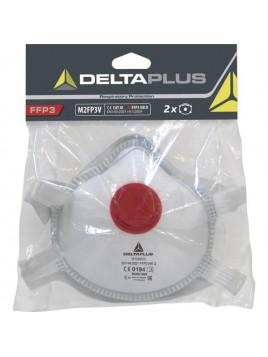 Półmaska z filtrem FFP3 (kpl. 2 szt.) M2FP3V Delta Plus Polska