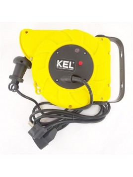 Przedłużacz warsztatowy z automatycznym zwijaczem OWY 3x1 11+2m PB-AUTO KEL Plast-Rol